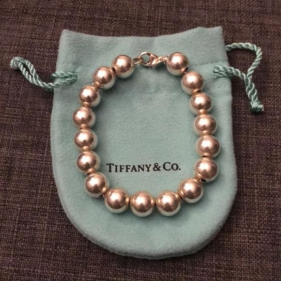 ecd2883677bb TIFFANY  Co. Hardware Ball Bracelet WITH bag. M 5ac80e422c705d6fea6c2fb1